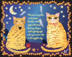 Happy Halloween! (faith goble) Tags: cats art halloween illustration digital cat painting advertising october artist poem photographer bluegrass drawing kentucky ky faith creativecommons poet writer illustrator vector adobeillustrator tacomaartmuseum bowlinggreenky goble bowllinggreen anawesomeshot originalpoem faithgoble sharingart poemandpainting grafixer ccbyfaithgoble gographix faithgobleart