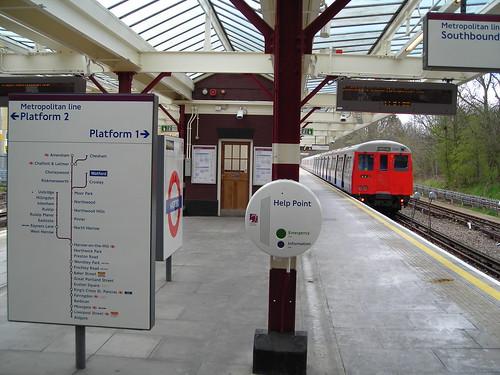 Watford Underground Station by by J C Milko