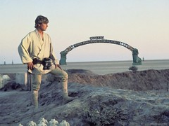 Luke on Modesto, Tatooine