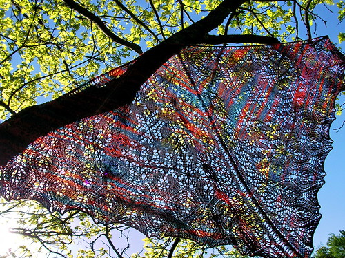 Mystic Light Shawl