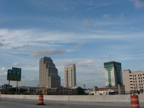 Nice Sky over Downtown Orlando...