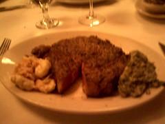 del frisco rib eye steak ft worth texas