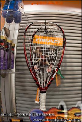 Racquetball Racquet: HEAD AMP 175