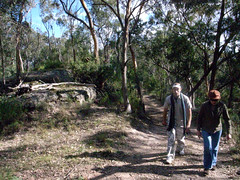 Sam & Martin walk (Sheriff of Nothing) Tags: megalong