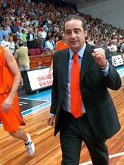 Txus Vidorreta. Foto: Bilbao Basket