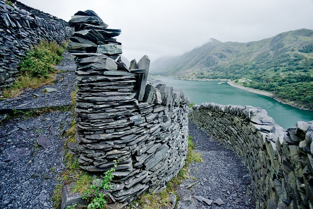 Dinorwic-138 The path to work (by Ben Cooper)