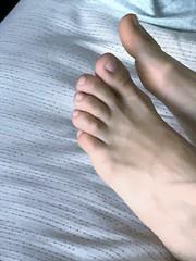 Sleeping Feet (Ped-antics) Tags: bare barefoot barefeet sexy feet female footfetish femalefeet ankles arches amateur