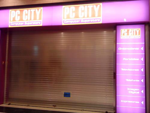 cierre PC CITY