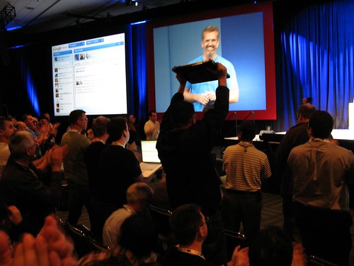 Google Wave ovation