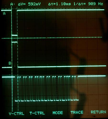 Scope Photo of Overlapped I/O