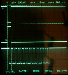 Scope Photo of Overlapped I/O