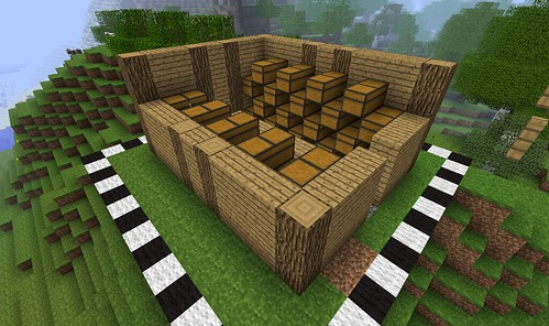 Step-by-Step: Warehouse - Survival Mode - Minecraft: Java