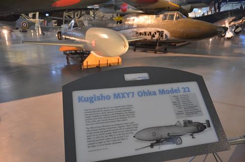 Steven F. Udvar-Hazy Center: Kugisho MXY7 Ohka Model 22