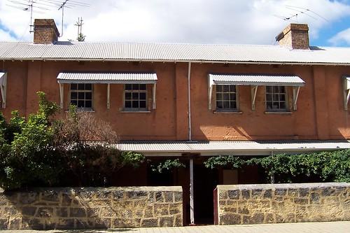 Former Prison Warders' terraces Henderson Street Fremantle