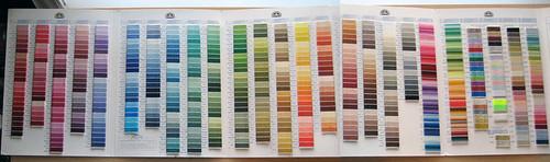 floss color chart