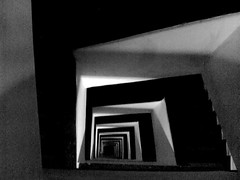 winding stairs (pictographic) Tags: cameraphone bw abstract love stairs square nokia top winding lovelovelove bnw 3230 artlegacy abstractartaward bwartawards geomtricshape priyankadamwani