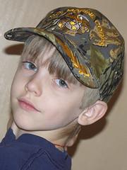 10-26-07 Tyler's new hat