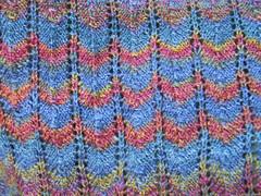 lace shawl closeup
