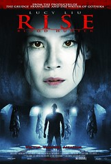 Cartel película Rise Cazadora de sangre
