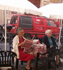 Ladies Who Lunch (moedonno) Tags: bill rizzo rome07