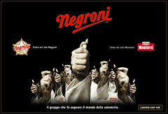 Negroniのファンタジックな広告