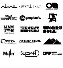Various logos (2001-2007) (helloMuller) Tags: comics logo books posters swarovski ps2 contra branding crystallized mamtor almaz ashleywood popbot kentwilliams designedbymuller graphicnoveldesignsampler