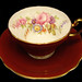 Foley Brothers Floral Teacup and Saucer