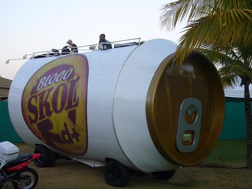 Giant Skol Beer Can