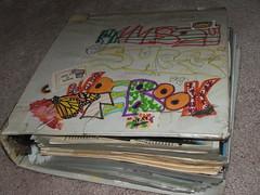 """my """"beck"""" notebook."""