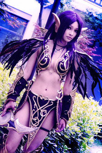 World of Warcraft Night Elf Foto Cosplay