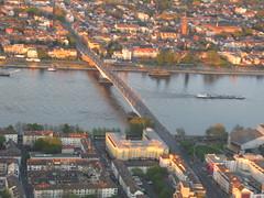Kennedybrcke (karstenf) Tags: aerialview rhein luftbild