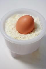 Egg In Fong Nest