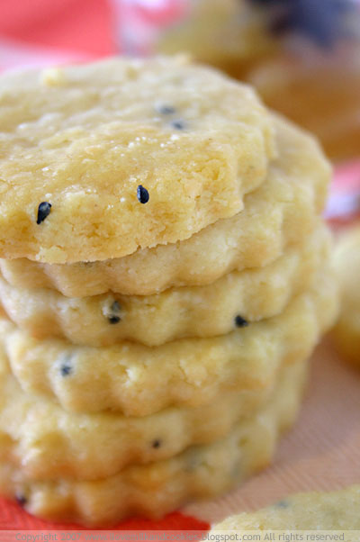 Cheddar and Nigella Seed Biscuits