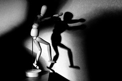Light and Shadow-1 (Amir Maljai( )) Tags: shadow bw doll experimental d200 nikkor lightandshadow hensel ikeadoll uaephotographer iranianphotographer  uaephotography dubaiphotographer dubaiphotography  persianphotographer persianphotography iranianphotography
