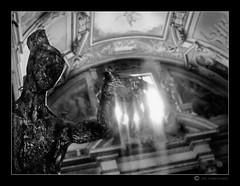 The Angel of the light (elielid) Tags: light church angel espressionidellanima