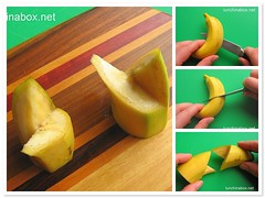 How to make decorative banana wedges