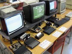 Sinclair machines (Marcin Wichary) Tags: museum zxspectrum sinclair bletchleypark computerhistory computermuseum sinclairql