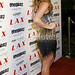 Ashley Leggat pictured at LAX Nightclub Las Vegas for Paris and