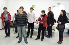Participants au Barcamp