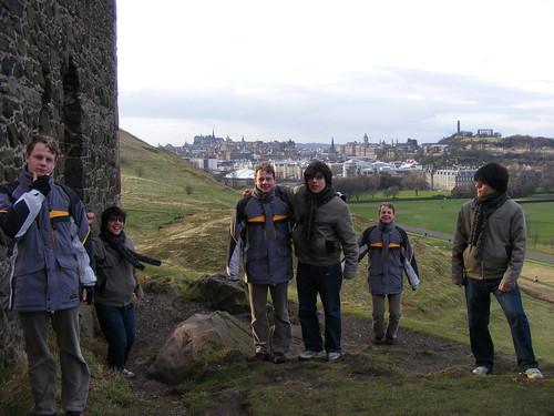 Colina cerca de Edinburgo