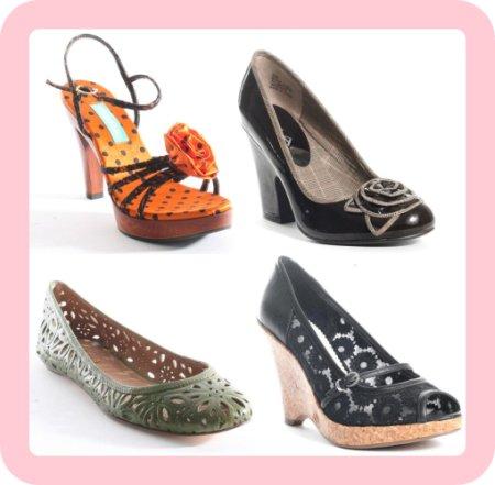 Floral fashion shoes