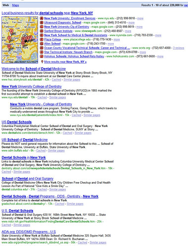 Google Universal Search: Local