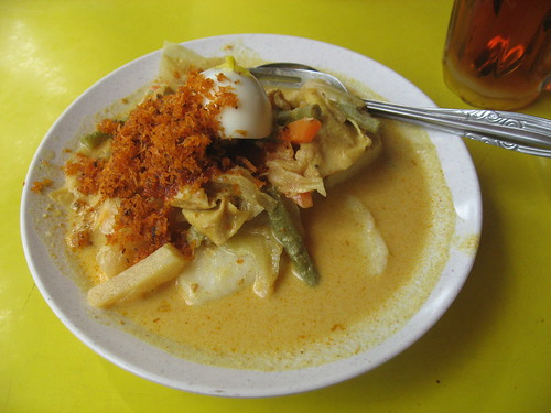 Traditional Singapore Breakfast