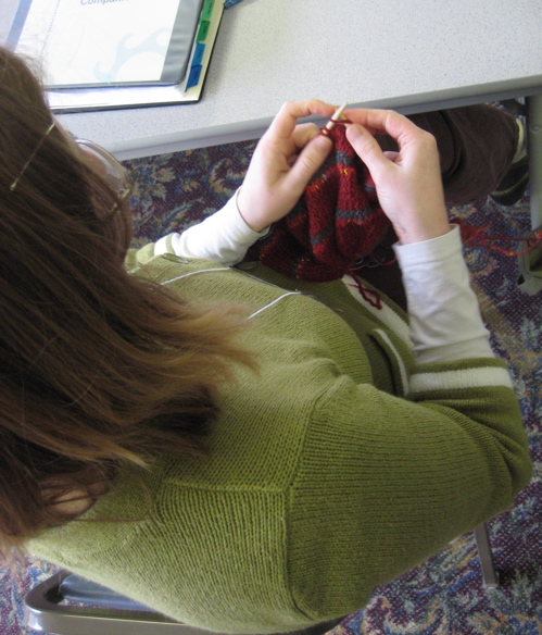 conference knitting 2