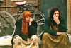 2 thinkers (fantyna) Tags: damascus arabianwomen syriabeirutdamasqliban