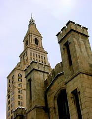 Travelers towers and Wadsworth Atheneum - Hartford by Chez Julius