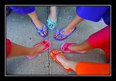 Flip Flop Color Wheel (Kirsten Alana) Tags: pink wedding orange feet colorful purple handmade turquoise framed mob explore bridesmaids reception flipflops weddingparty 15favs tatoo creamofthecrop motherofthebride musictomyeyes novideo weddingphotography cotcmostinteresting explored explorefrontpage featuredinexplore seeninexplore colorphotoaward goldenphotographer heartawards platinumheartaward coloursplosion porterhottmann wwwvisibleimagescom