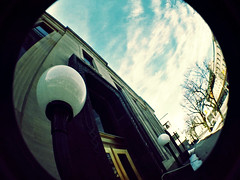 Guelph - Old post office lomo (Dave Noyle) Tags: canada film lomo guelph fisheye