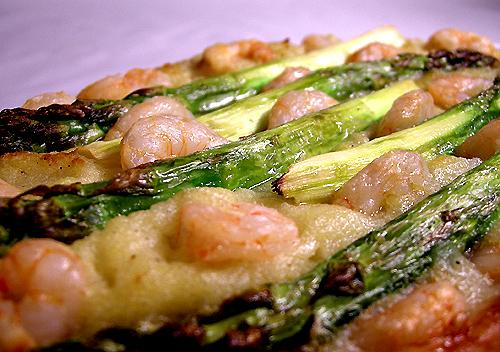 鮮蝦蘆筍馬鈴薯派-080331