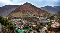 Devprayag - Confluence of rivers (Henk oochappan) Tags: 2008 northindia uttaranchal devprayag ganga oochappan img3766h uttarakhand india indianphotography rishikesh